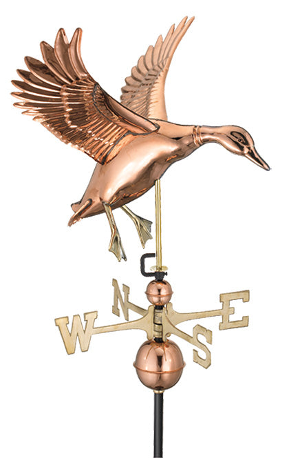 Amish Crafted North Fork/Hampton Series Weathervanes-Landing Duck