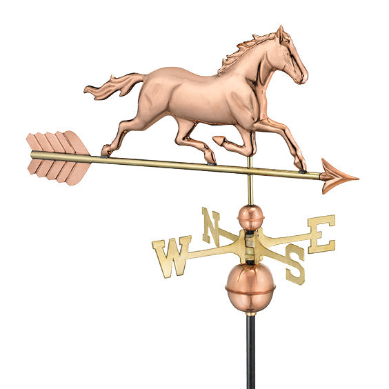 Amish Crafted North Fork/Hampton Series Weathervanes-Horse 967P
