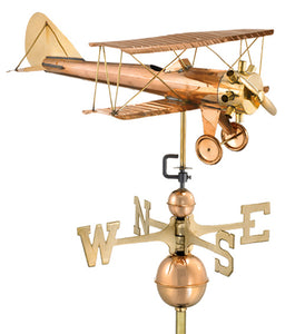 Amish Crafted North Fork/Hampton Series Weathervanes - Biplane