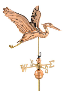 Amish Crafted North Fork/Hampton Series Weathervanes - Blue Heron