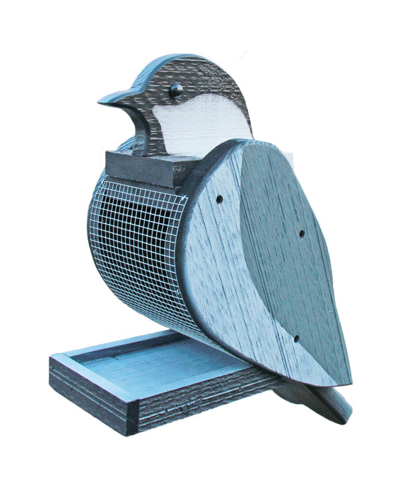 Amish Hand Crafted Bird Feeder-Chickadee