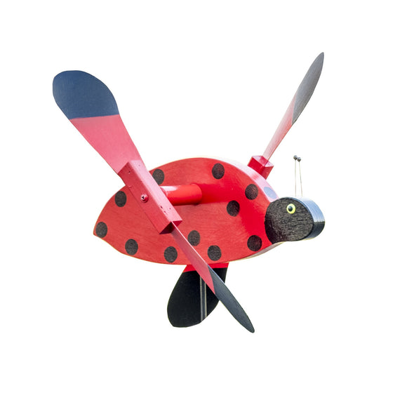 Lady Bug Whirly Bird