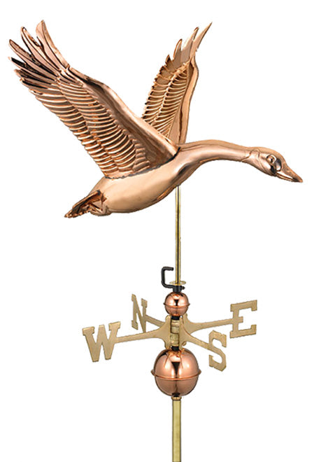 Amish Crafted North Fork/Hampton Series Weathervanes - Feathered Goose