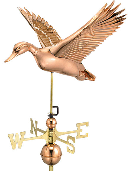 Amish Crafted North Fork/Hampton Series Weathervanes - Flying Duck