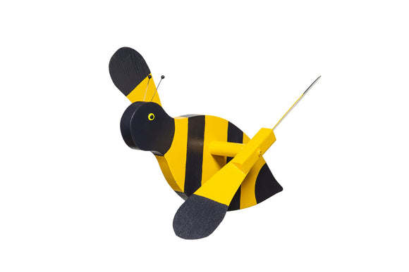 Amish Hand Crafted Whirly Bird-Bumblebee