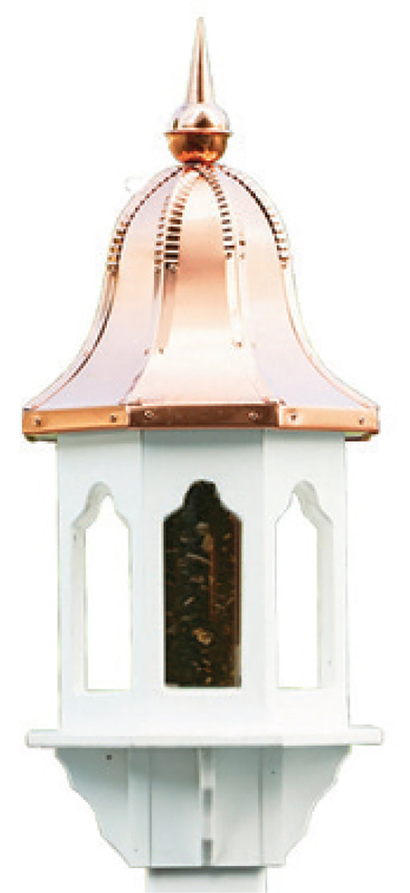 Amish Crafted Large Copper Top Bird Feeder