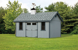 Amish Crafted Cottage Series Base Extensions 12/12 Pitch