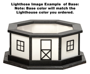 8 Ft Lighthouse Base Poly