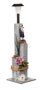 Nautical Solar Posts - Sea Captain
