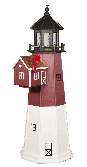 Lighthouse with Built-in Mailbox - Barnagat