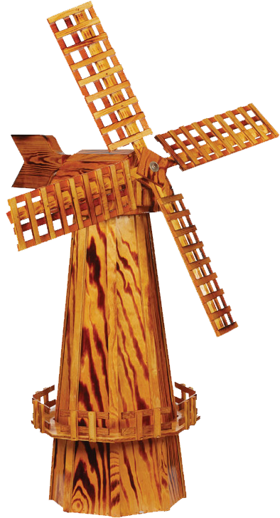 Amish Crafted Large Wooden Windmill