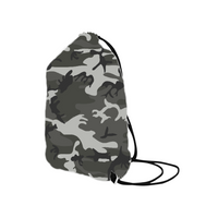 Camo Drawstring Bag-Drawstring bag for boy- Customize with your own designs