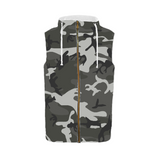 Camo Hoodie Sleeveless-Personalize with your designs