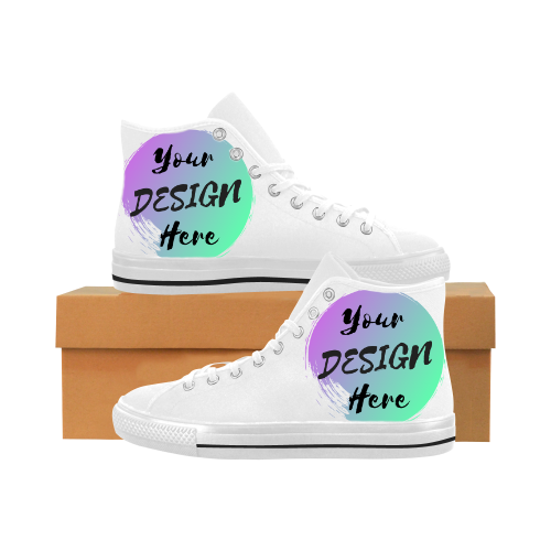 Custom High Top Shoes - Unisex