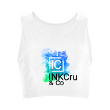 White Custom Logo Sports Top for personalising with your own designs