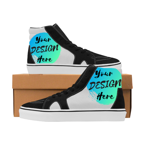 Custom Vegan High Top Shoes - Unisex