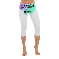 Custom Capri Leggings