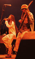J-Maxx & JAH Boogie on stage at Summerfest in 2000