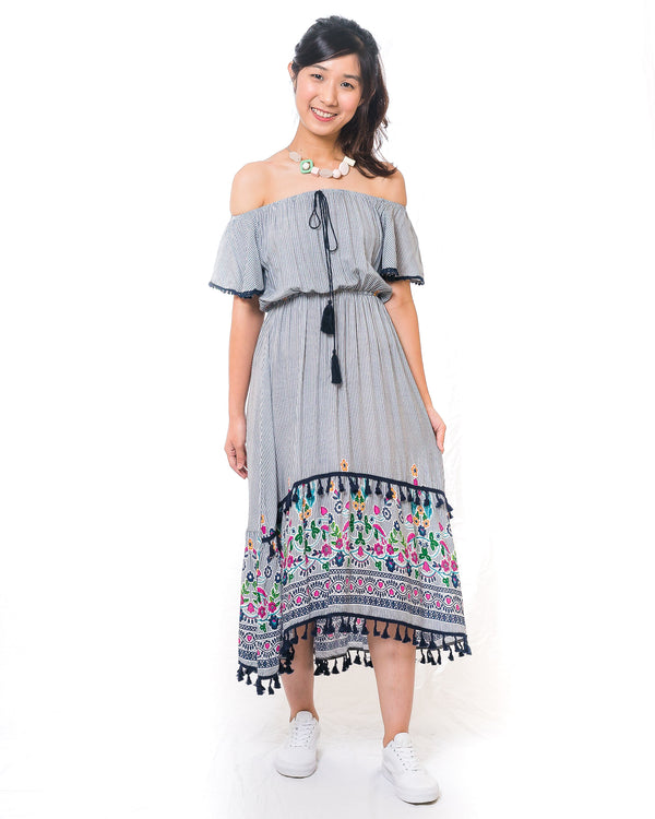 Chalize Off-Shoulder Dress