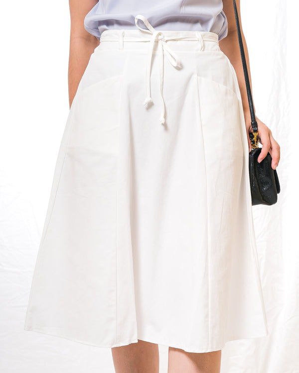 Leila A-line Plain Skirt