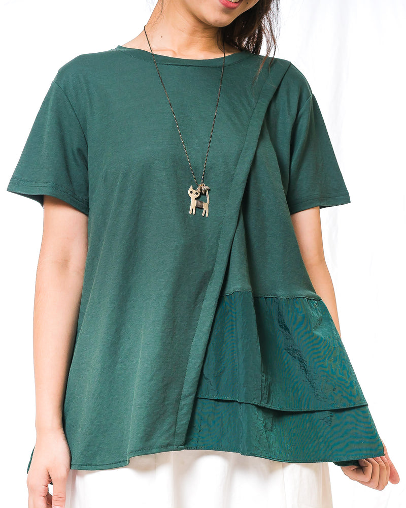 Pauline Asymmetrical Layered Top