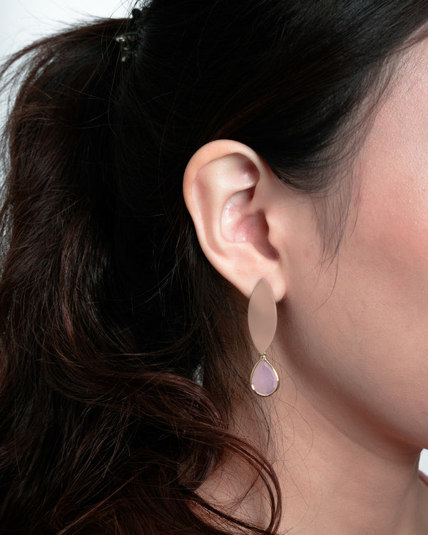 Pastel Jewel-Drop Earrings