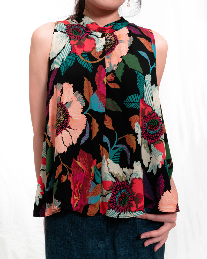 Stacie Colourful Floral Top