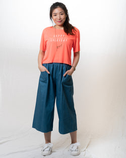 June Denim Culottes