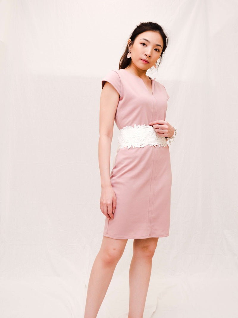 Marlene One-tone Pencil Dress