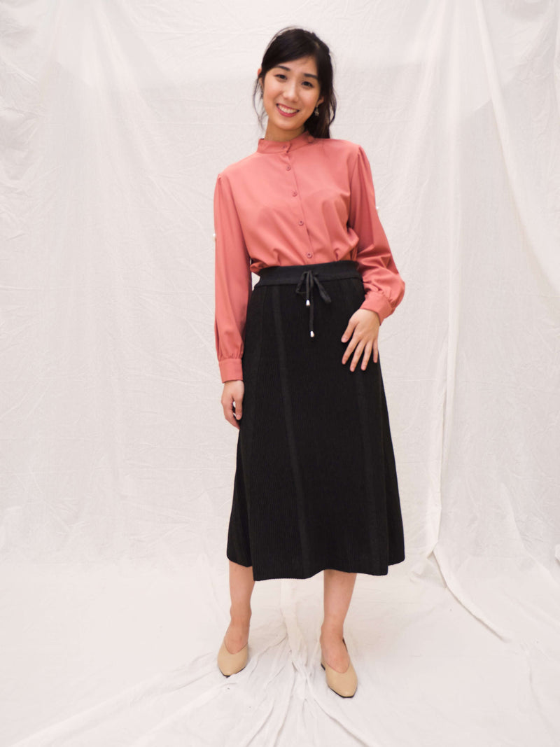 Candize Knitted Midi Skirt