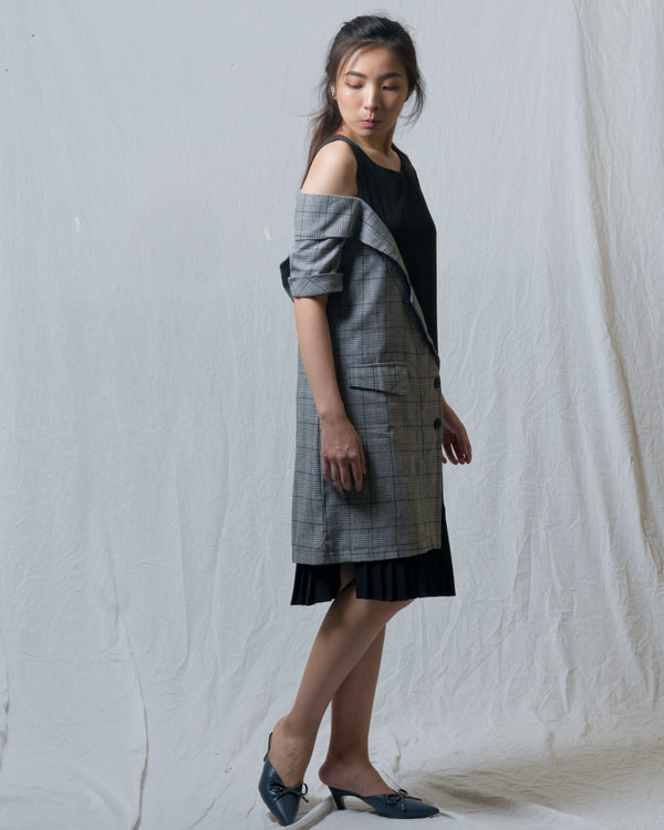 Faith Half-Blazer Dress