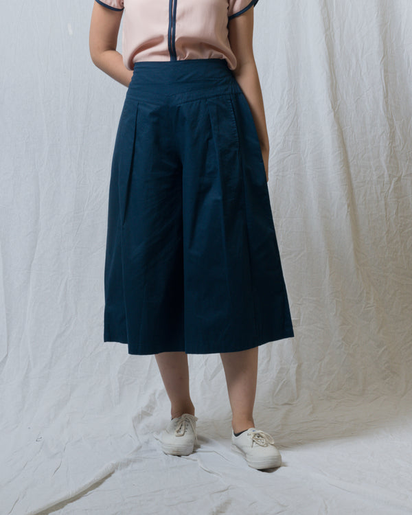 Athene Drop-waist Panel Culottes