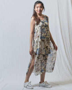 Shaine Sleeveless Floral Dress