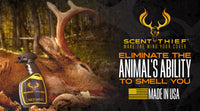 Scent Thief Scent Elimination with Hunting Scent Control System