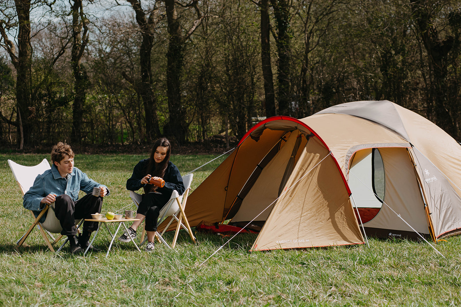snow peak day camp out Amenity dome M