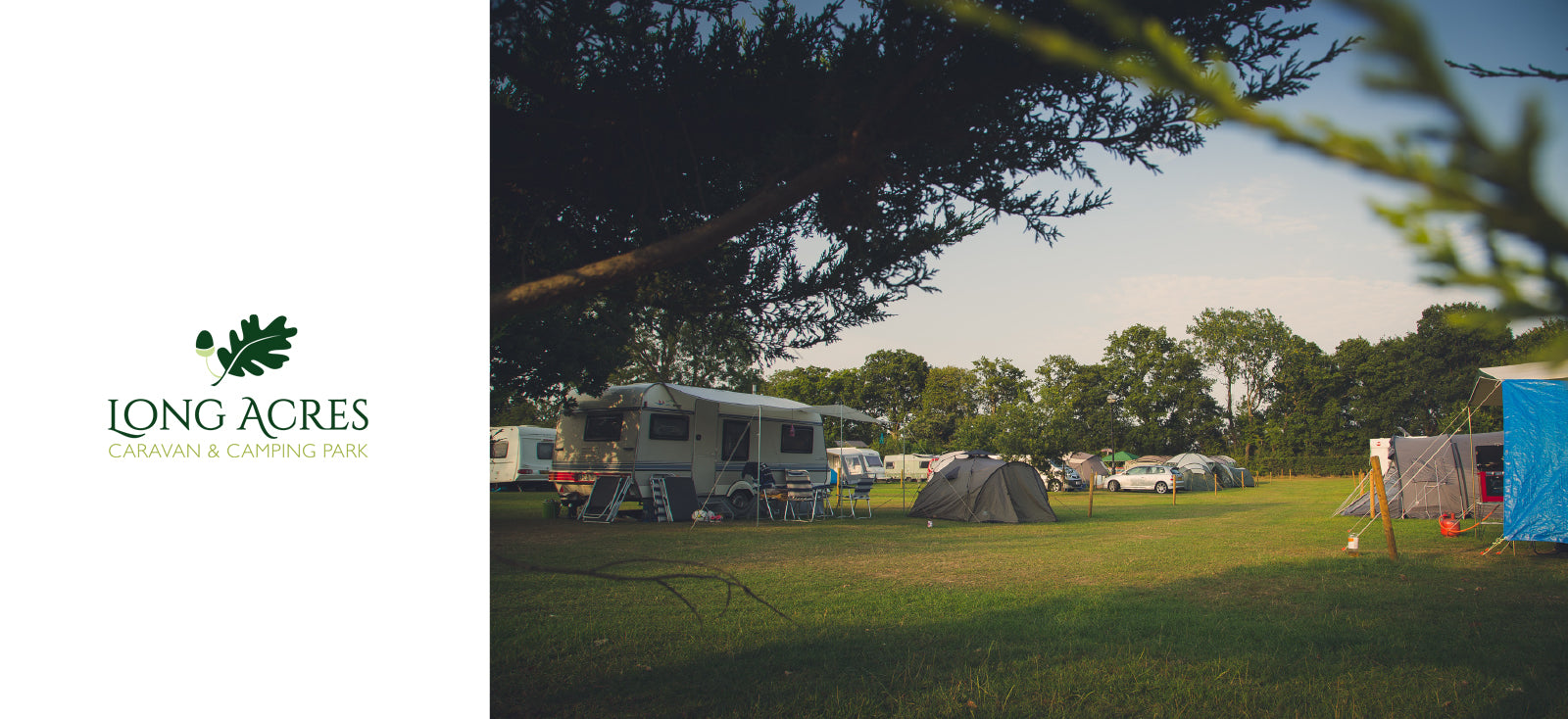 long acre camping site in surrey