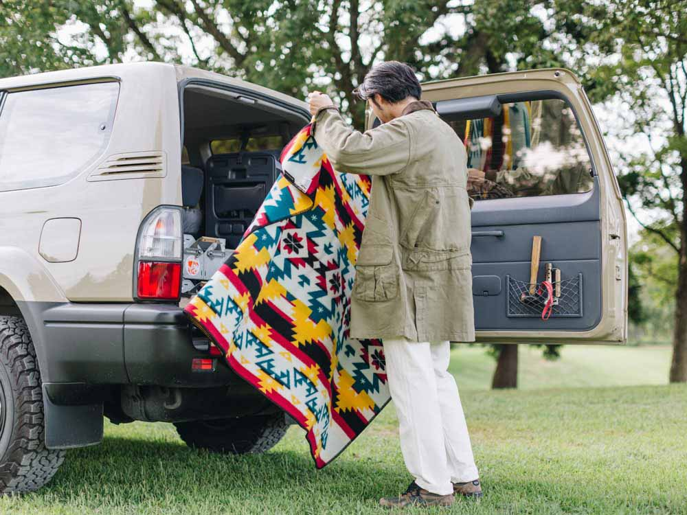 Snow Peak x Pendleton Double size Muchacho Blanket