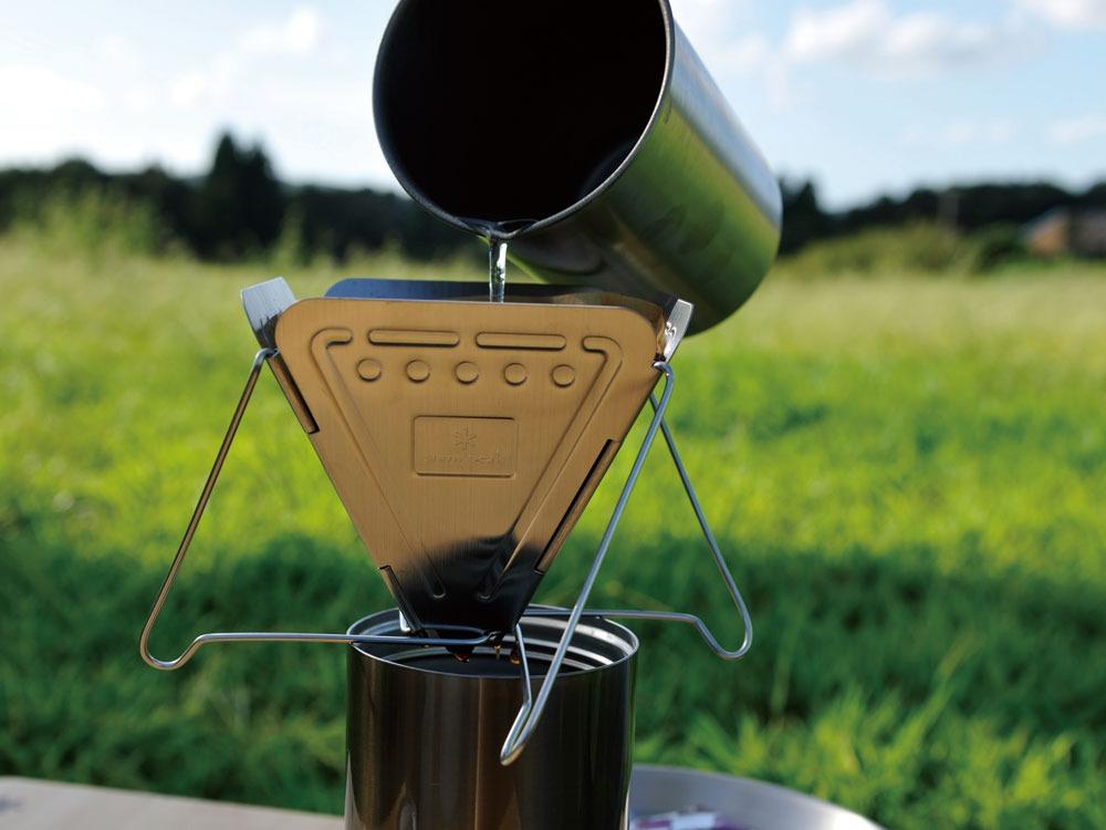 Collapsible Coffee Dripper - snow-peak-uk