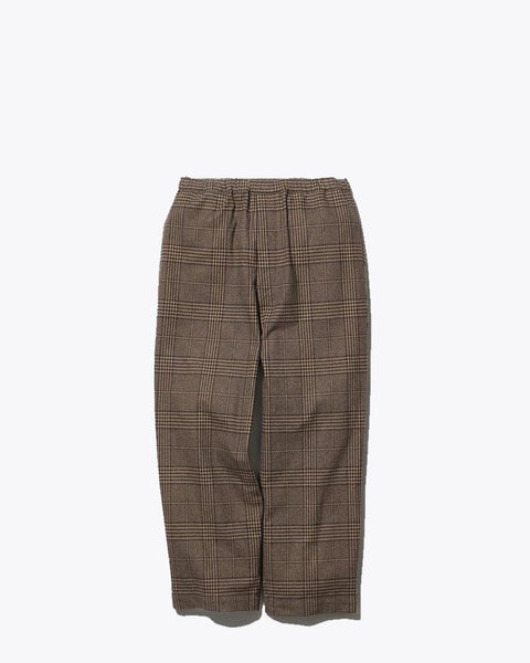 Snow Peak pa-19au209-wide-pants-glen-check