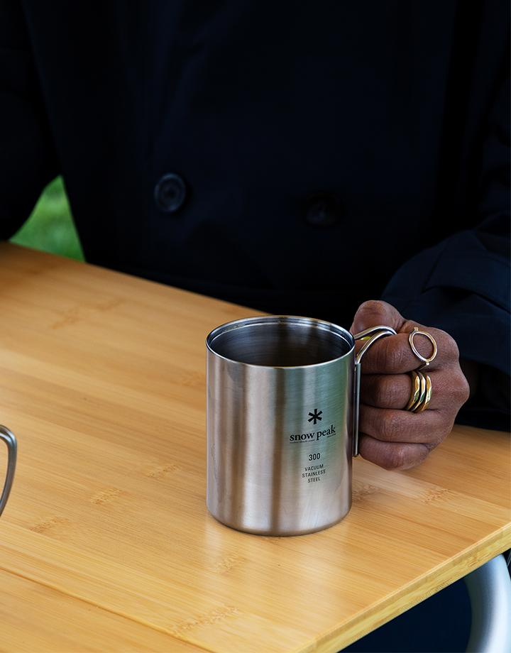 Stainless Steel Mug 300