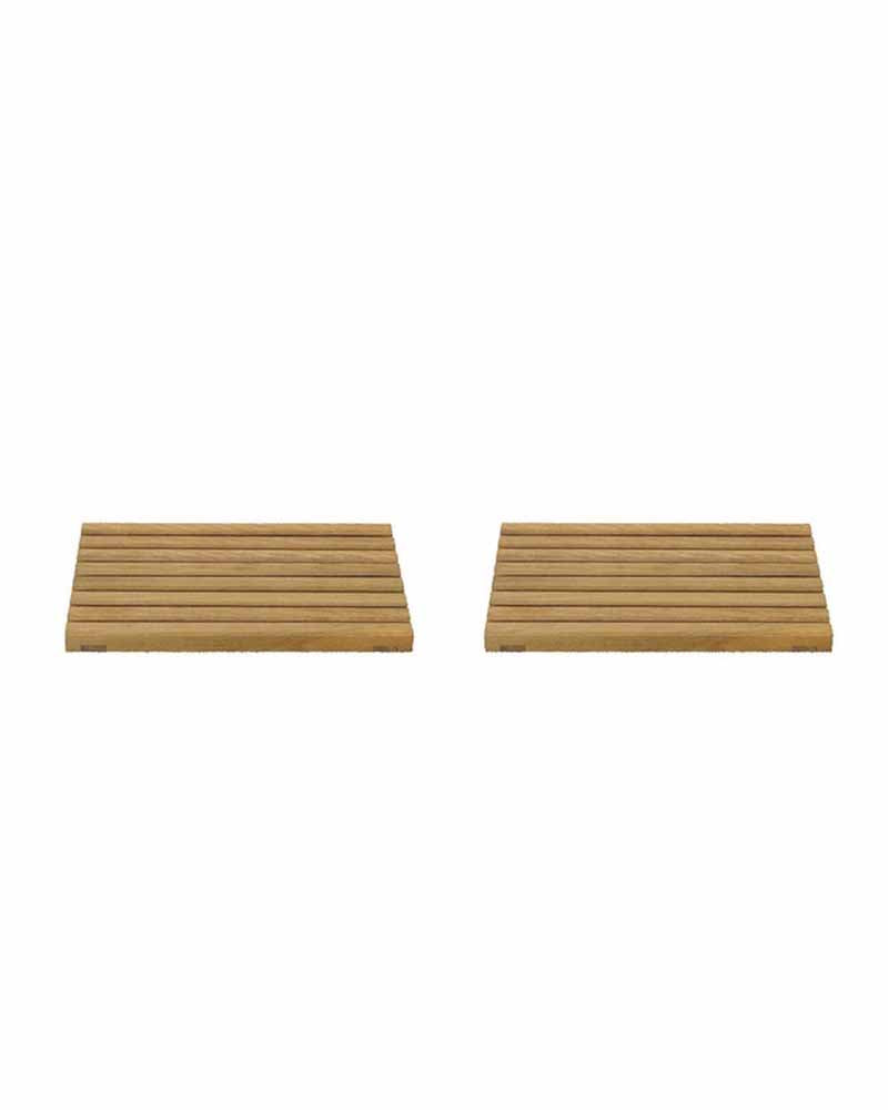 Garden Unit Table Wood Insert 2pcs
