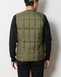 Snow Peak Recycled Middle Down Vest Jk-19Au11300Bk