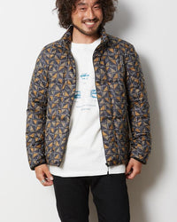Snow Peak Printed Recycled Middle Down Jacket Jk-19Au11400Rd