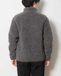 Snow Peak Wool Fleece Jacket Jk-19Au11600Gy