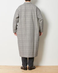 Snow Peak Long Shirt Jacket Glen Check Jk-19Au20702Eb