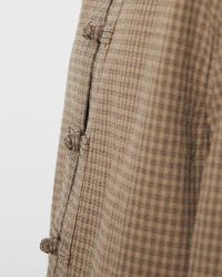 China Jacket Gingham Check - snow-peak-uk