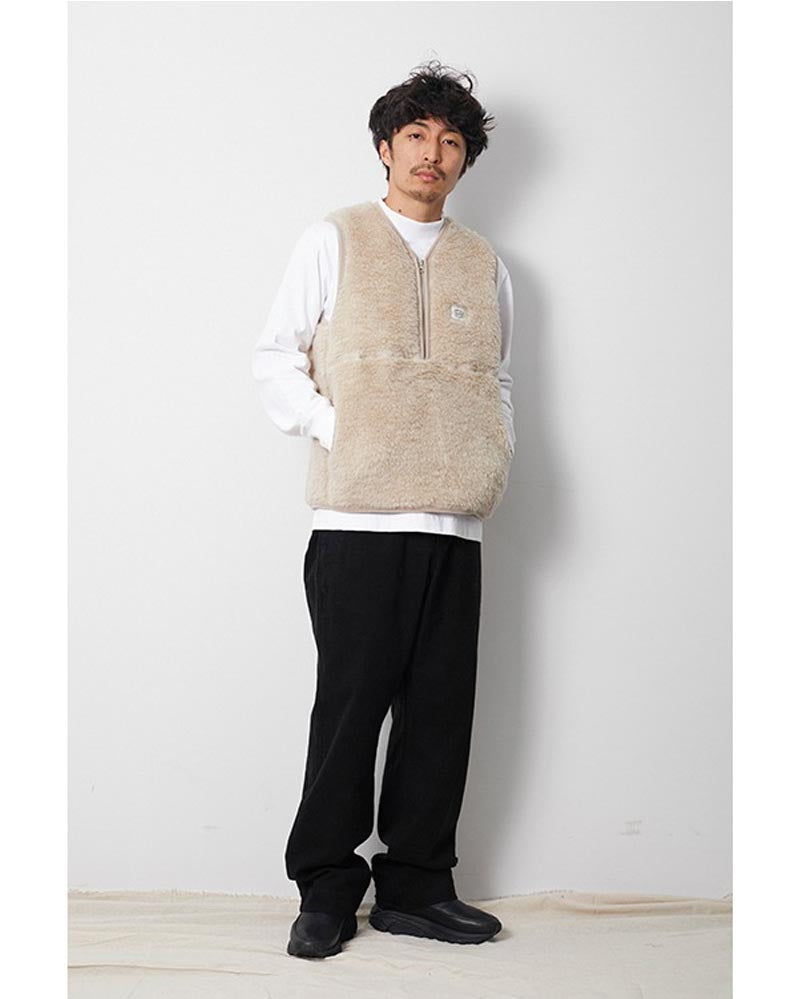 Wool Fleece Vest