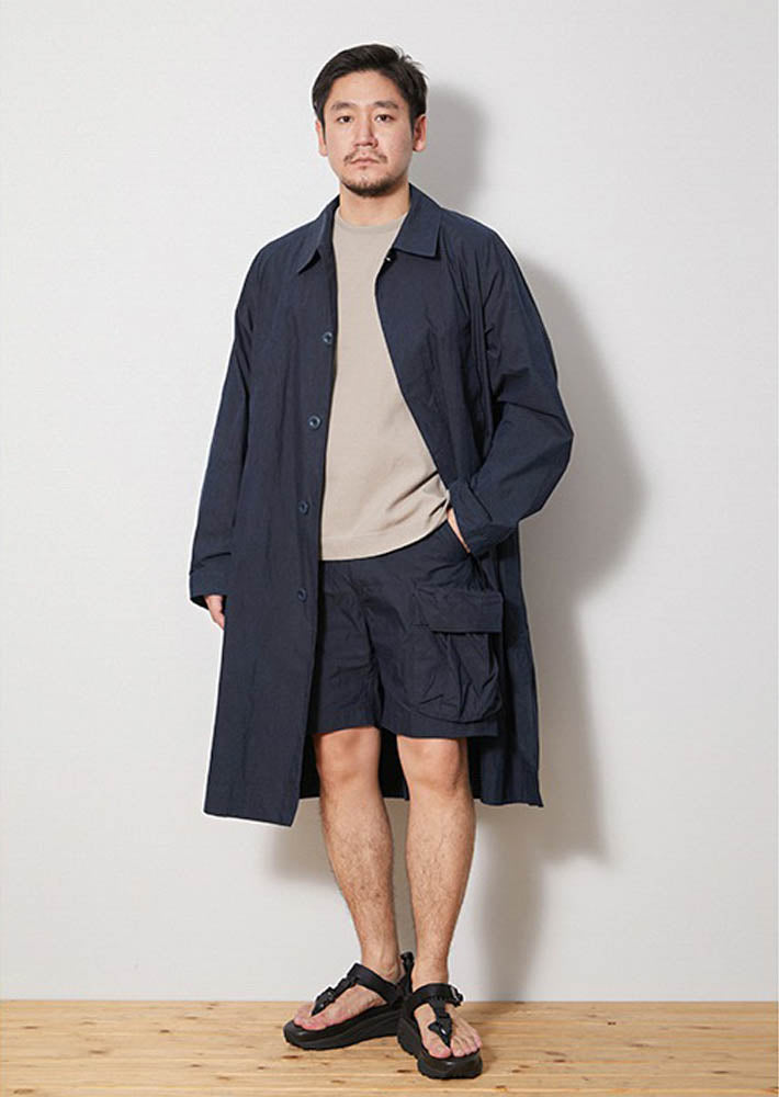 Indigo C/N Trench Coat