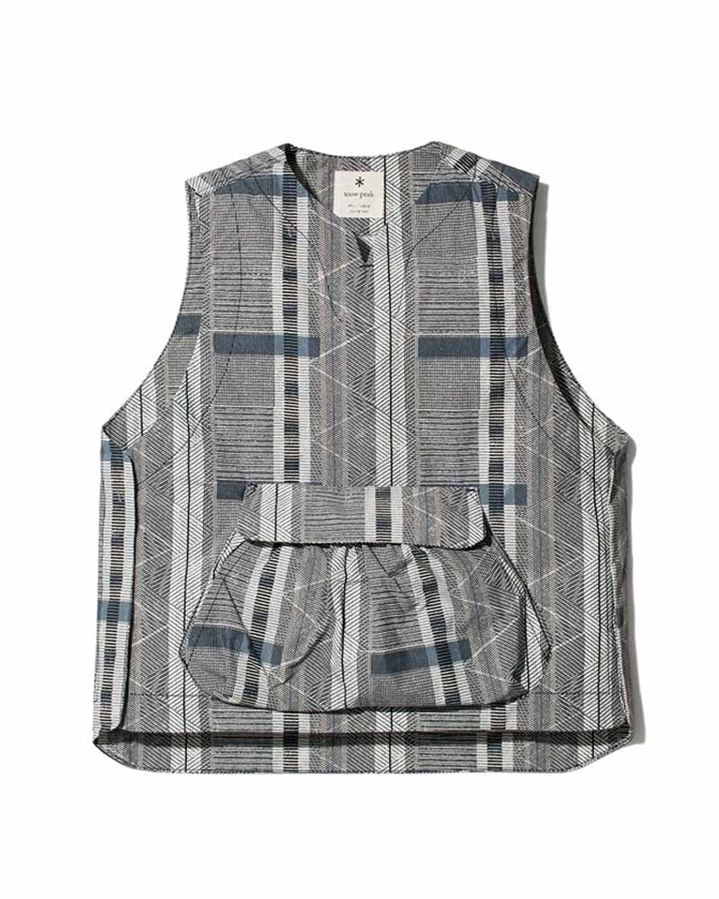 Printed Proof Canvas Vest