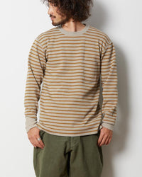 Snow Peak Wool Linen/Pe Crewneck Long Sleeve Kn-19Au20400Bw